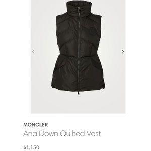 BNWT Moncler Vest